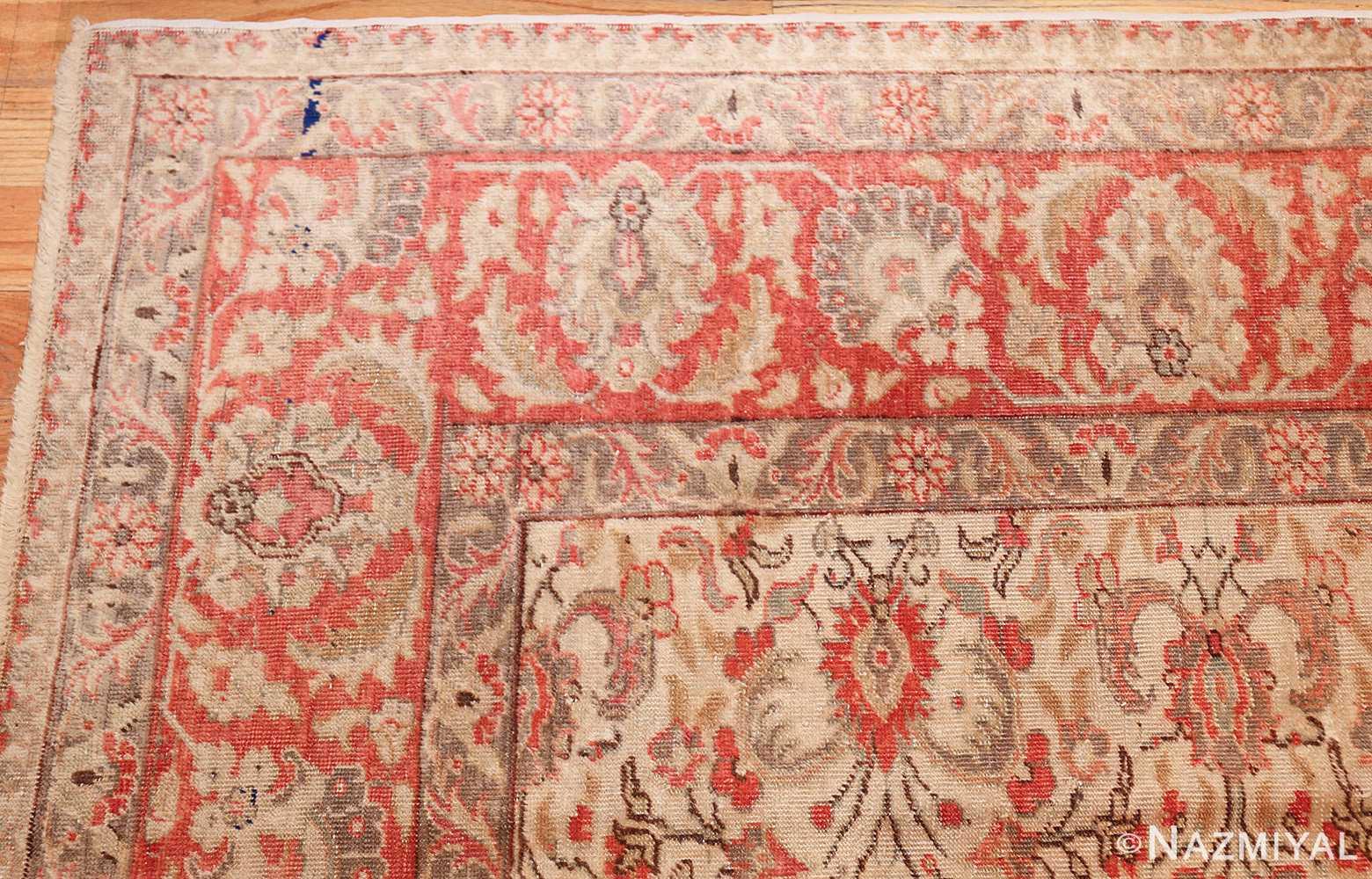 decorative vintage turkish sivas rug 50390 corner Nazmiyal