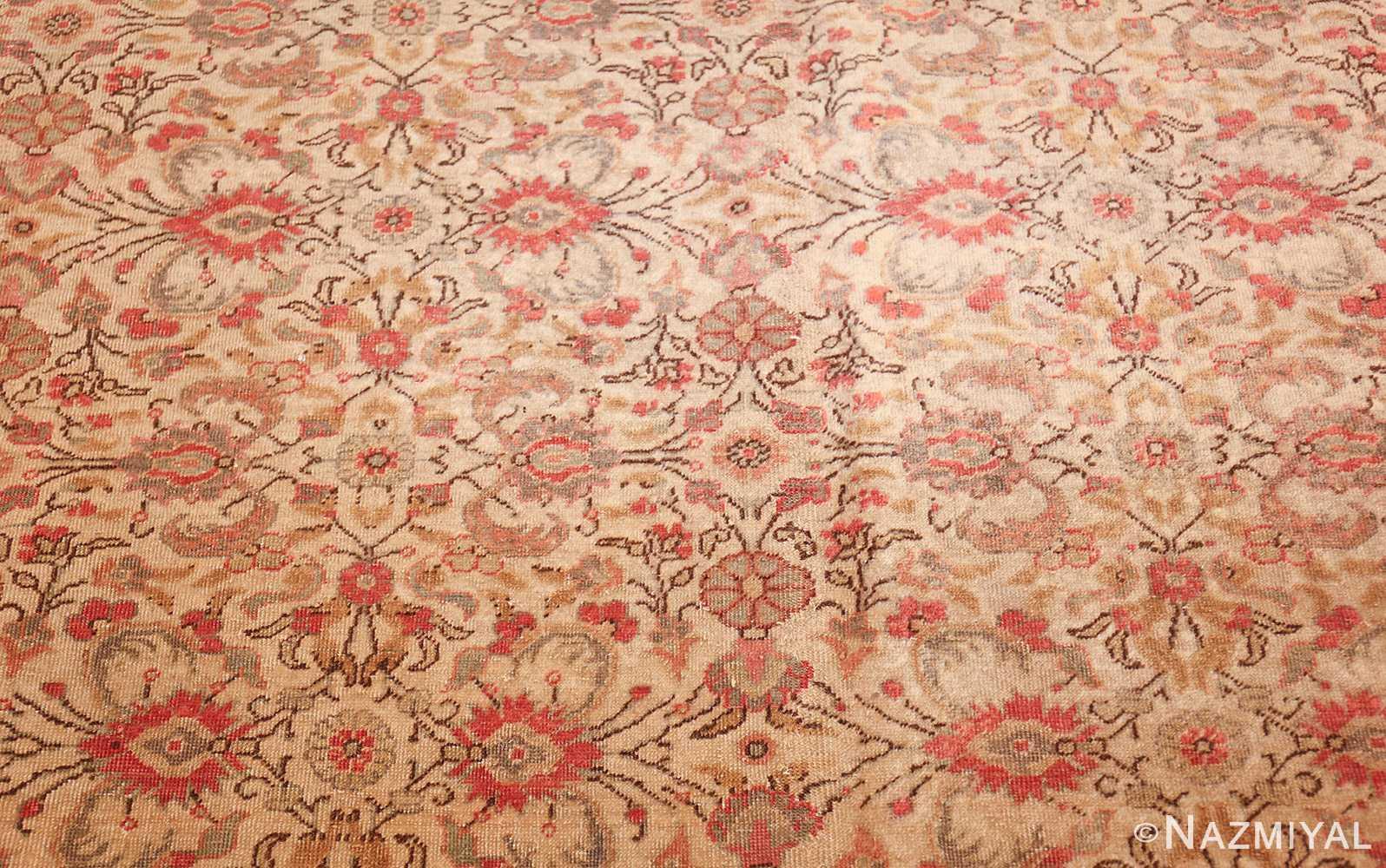 decorative vintage turkish sivas rug 50390 field Nazmiyal