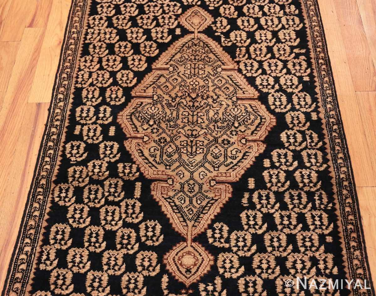 Field Antique Paisley design Persian Malayer runner rug 50419 by Nazmiyal