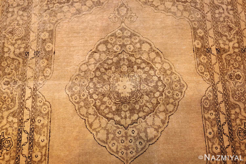 fine scatter size antique persian tabriz rug 50401 medallion Nazmiyal