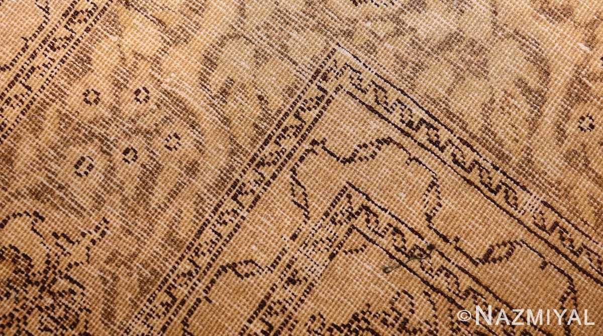 fine scatter size antique persian tabriz rug 50401 weave Nazmiyal