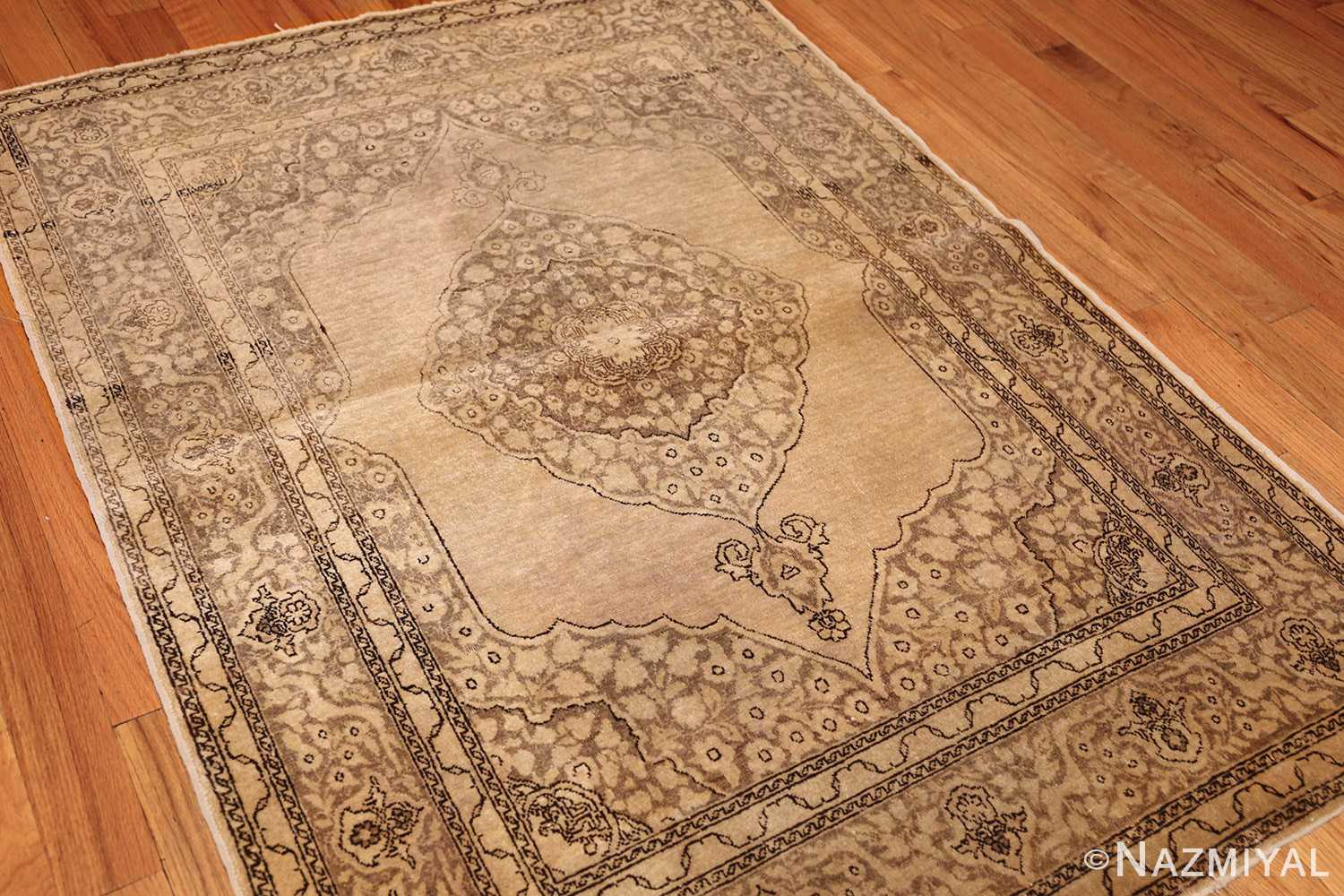 fine scatter size antique persian tabriz rug 50401 whole Nazmiyal