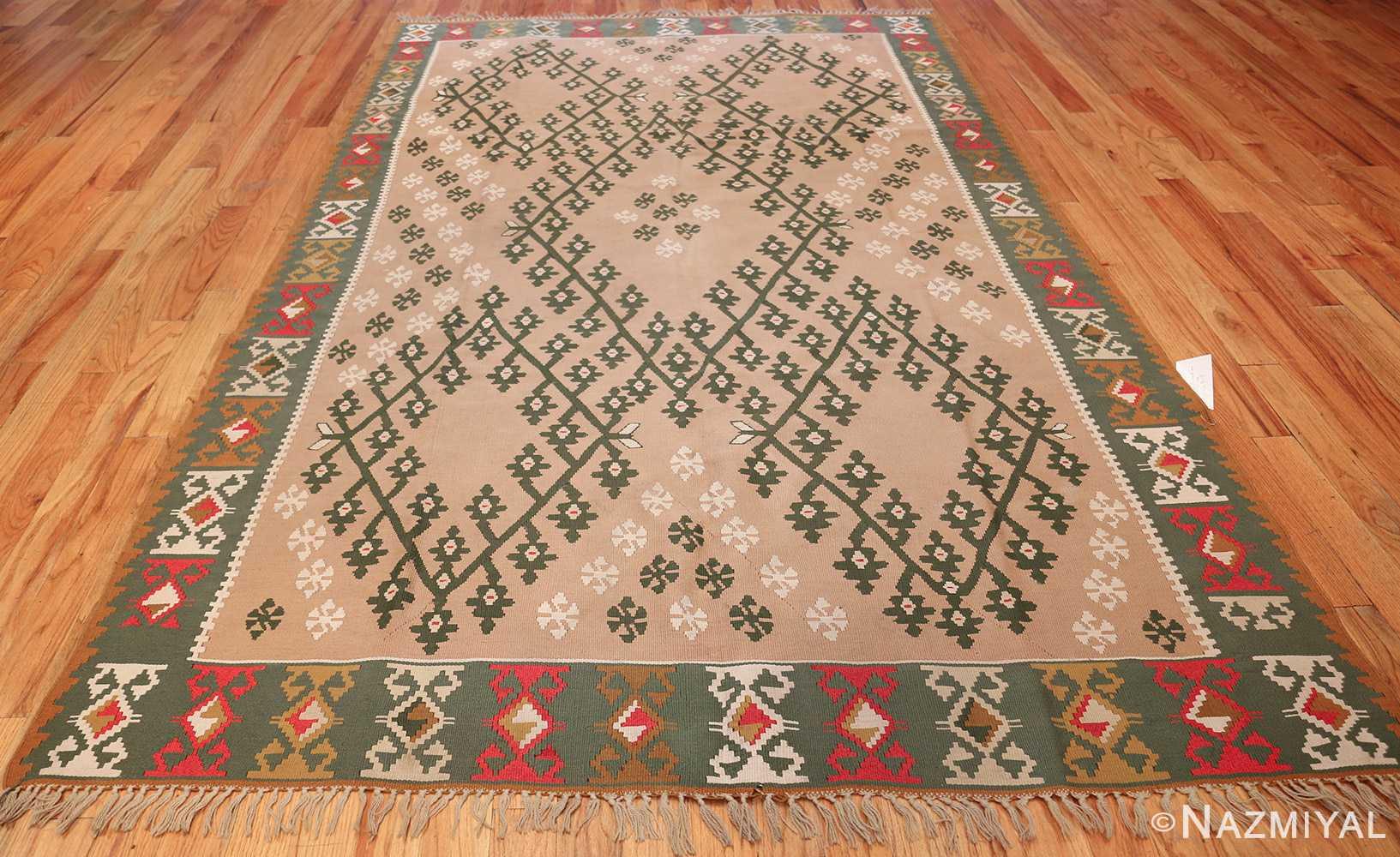 flat woven vintage bessarabian kilim rug 50433 whole Nazmiyal
