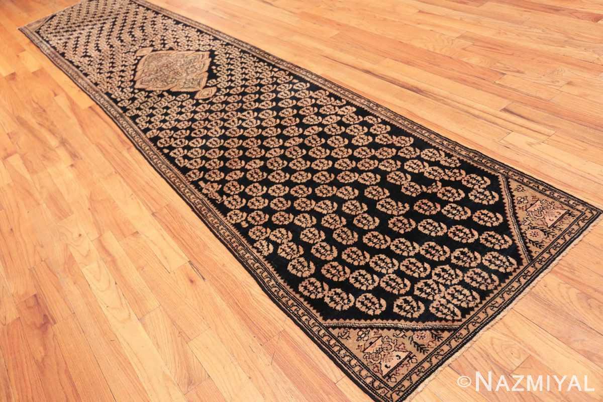 Full Antique Paisley design Persian Malayer runner rug 50419 by Nazmiyal