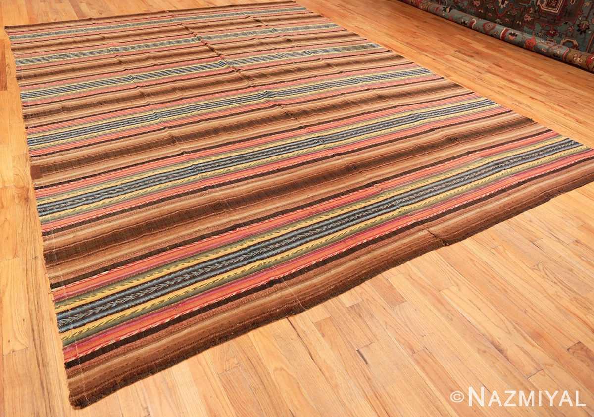 Full Antique America rag rug 48669 by Nazmiyal