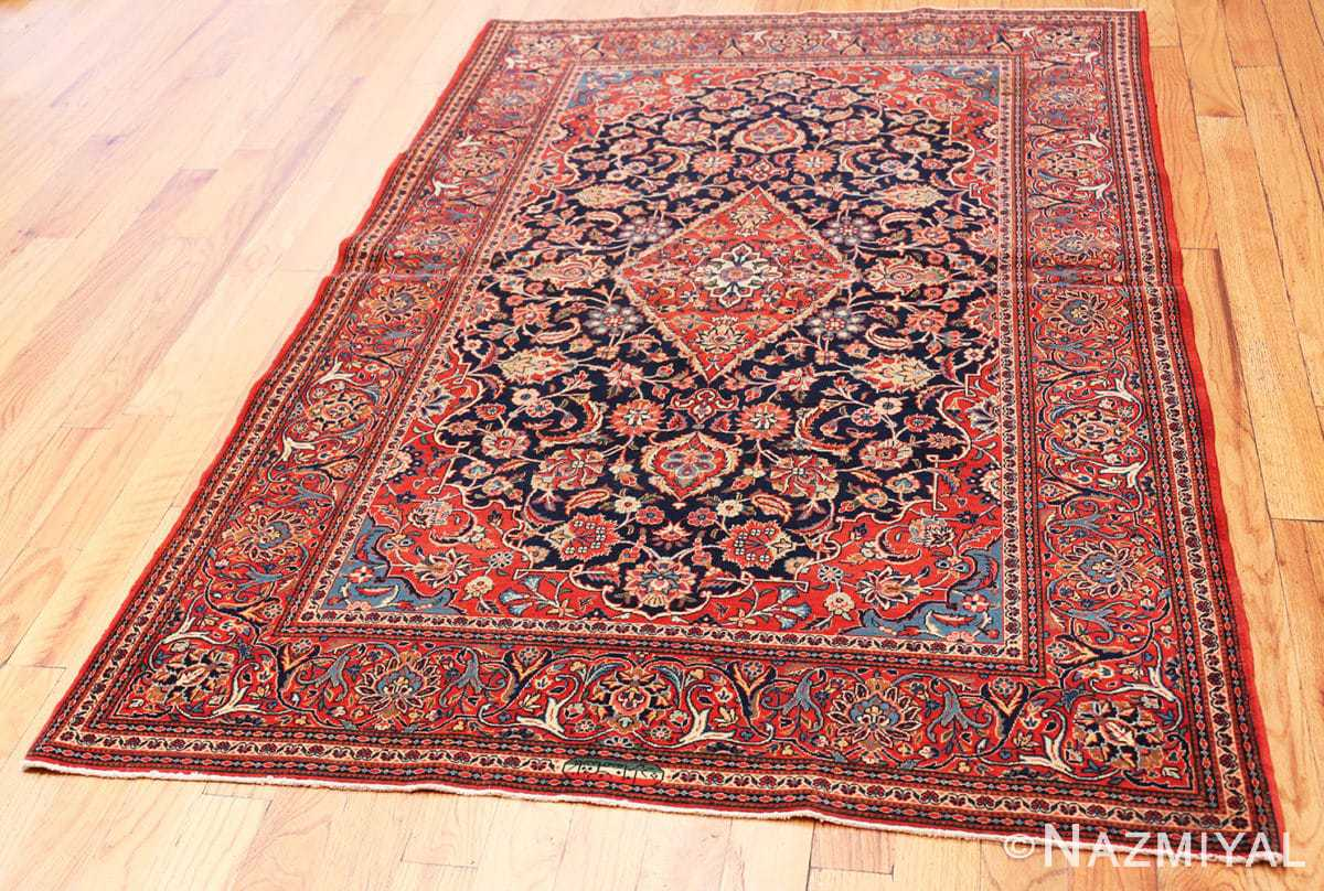 Full Classical Antique Persian Kashan rug 50413 by Nazmiyal