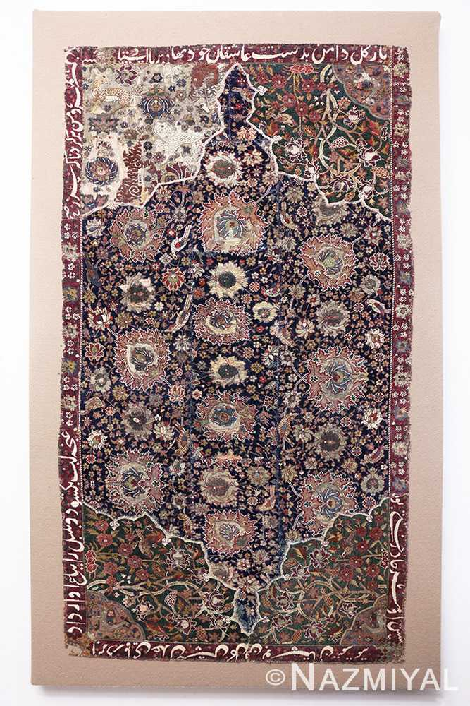 Full Antique 16th Century Persian afavid Salting rug 48639 by Nazmiyal
