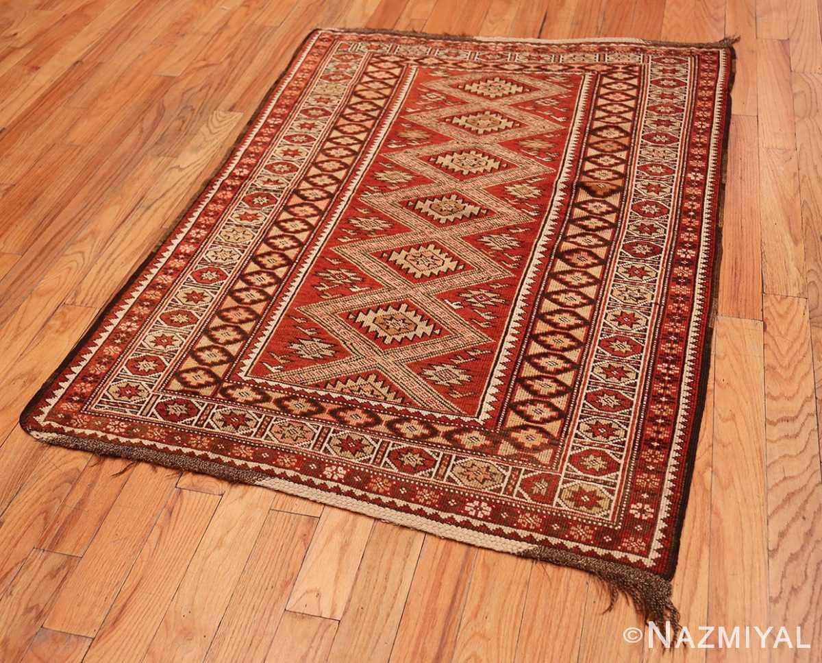 Full Vintage Tribal Turkish rug 50402 by Nazmiyal