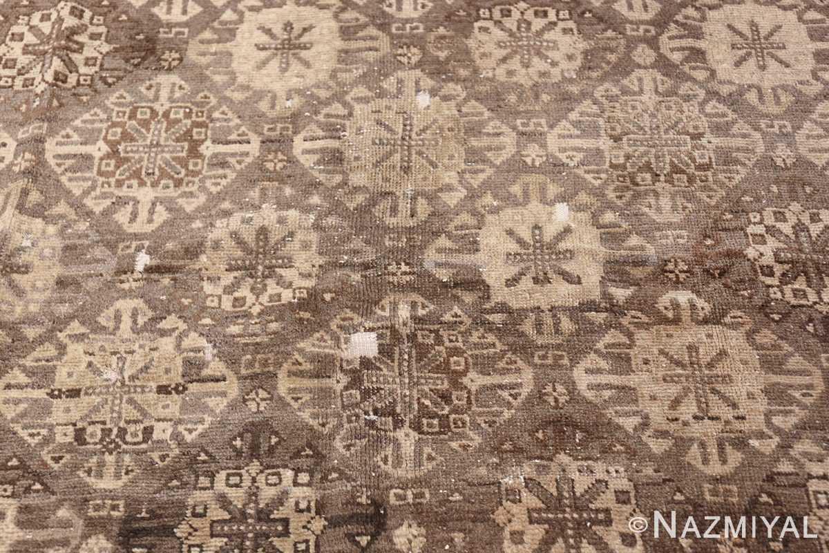 geometric antique east turkestan khotan rug 46920 field Nazmiyal
