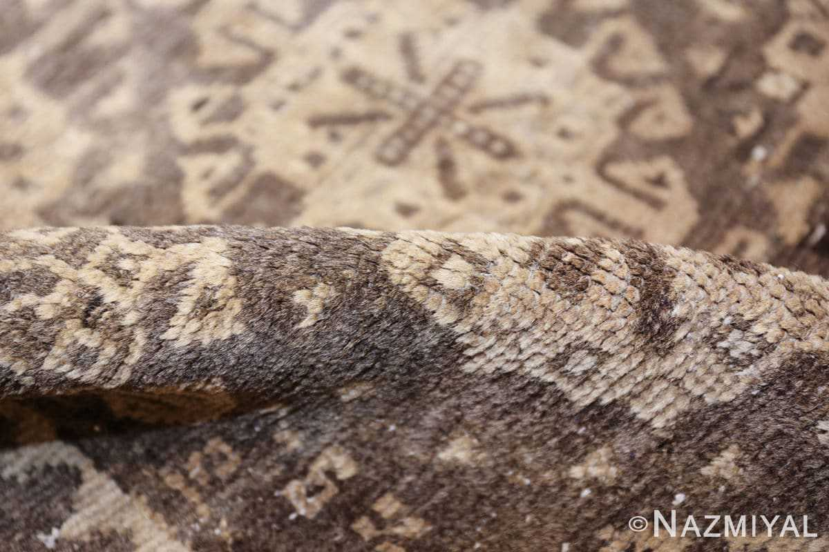 geometric antique east turkestan khotan rug 46920 pile Nazmiyal