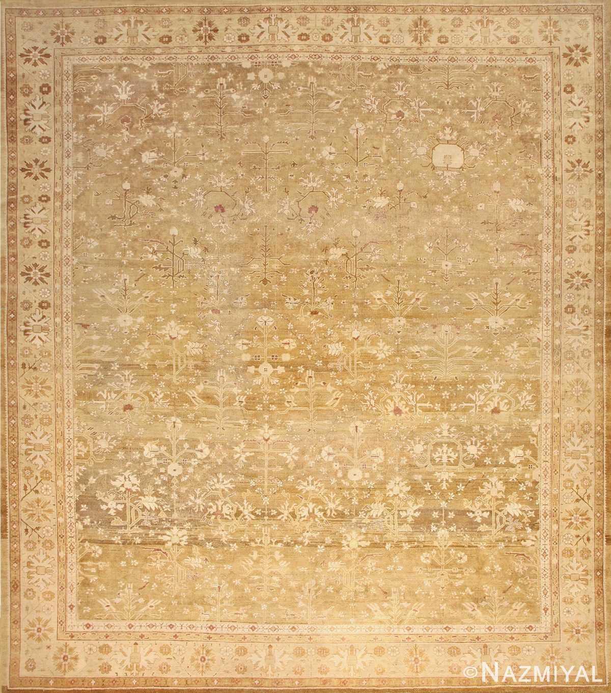 Large Antique Indian Amritsar Rug 50378 Nazmiyal