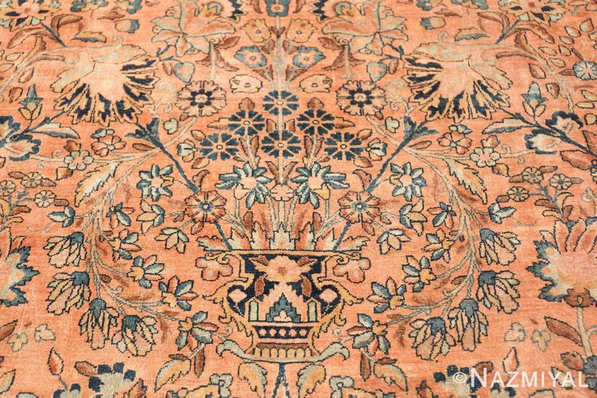 large antique persian kerman rug 50411 center Nazmiyal