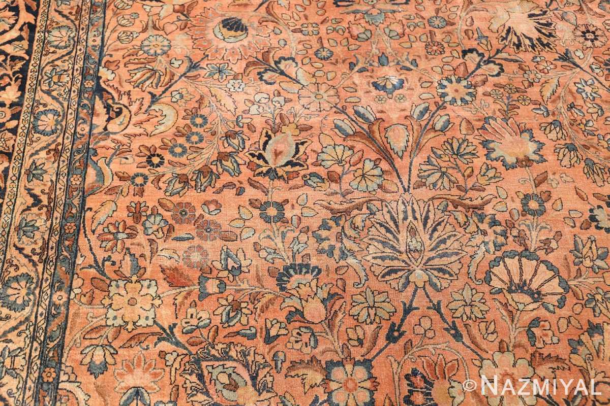 large antique persian kerman rug 50411 scrolls Nazmiyal