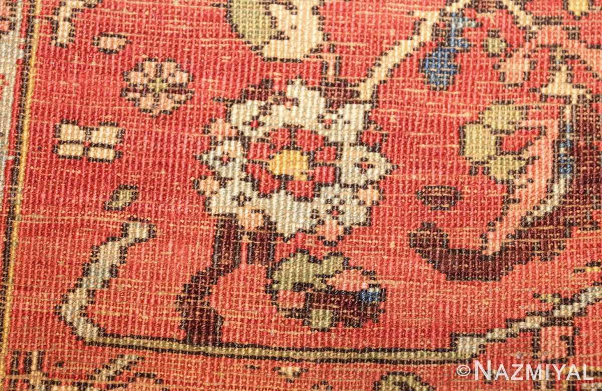large antique persian serapi rug 48645 weave Nazmiyal