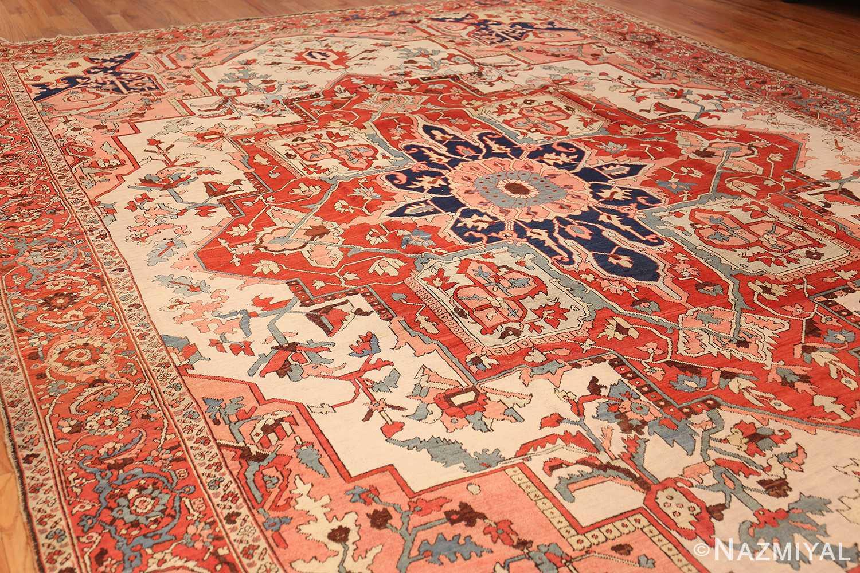 large antique persian serapi rug 48645 whole Nazmiyal