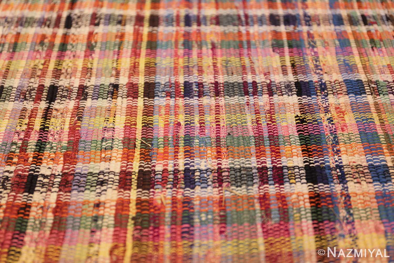 large oversize antique american rag rug 48667 colors Nazmiyal