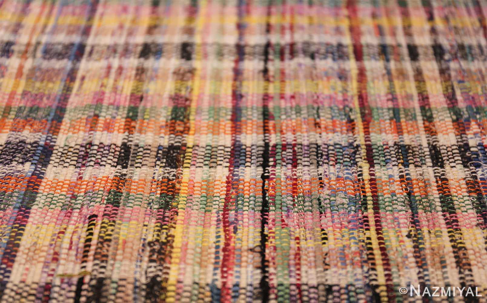 large oversize antique american rag rug 48667 lines Nazmiyal