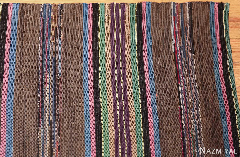 large room size antique american rag rug 48668 corner Nazmiyal