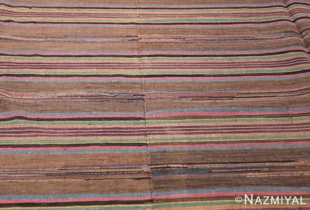 large room size antique american rag rug 48668 field Nazmiyal