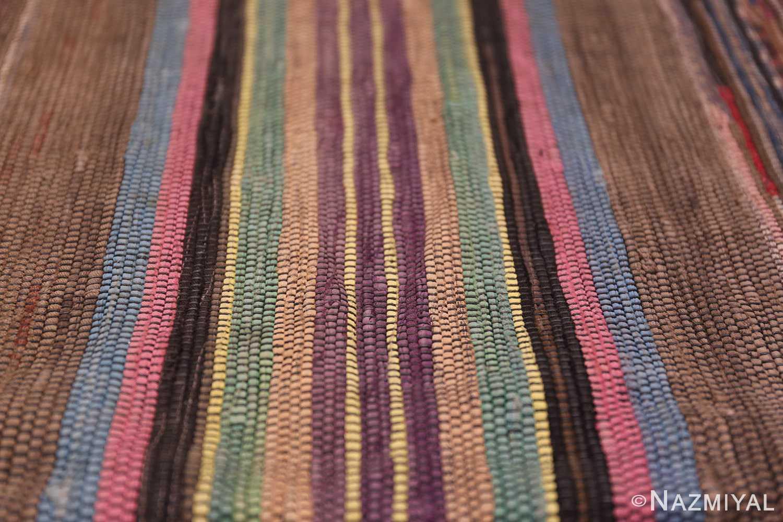 large room size antique american rag rug 48668 lines Nazmiyal