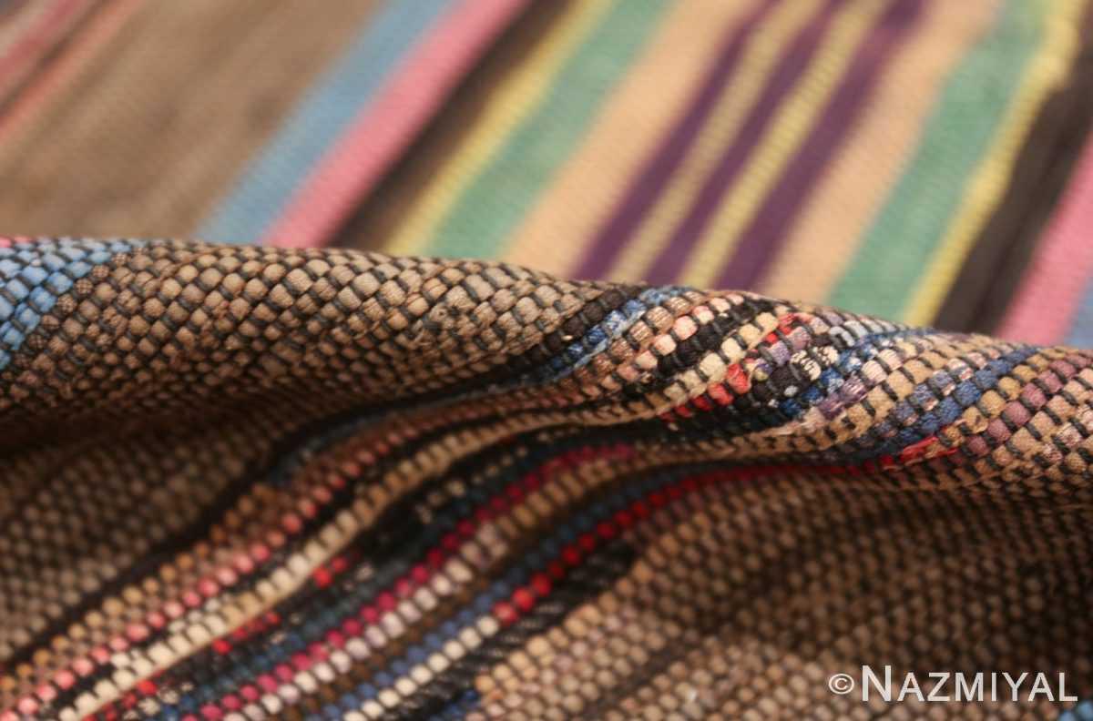 large room size antique american rag rug 48668 pile Nazmiyal