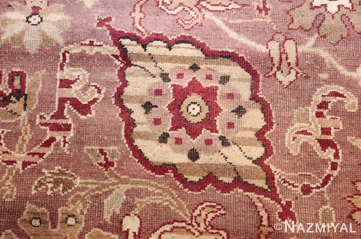 large square antique indian agra rug 46911 look Nazmiyal