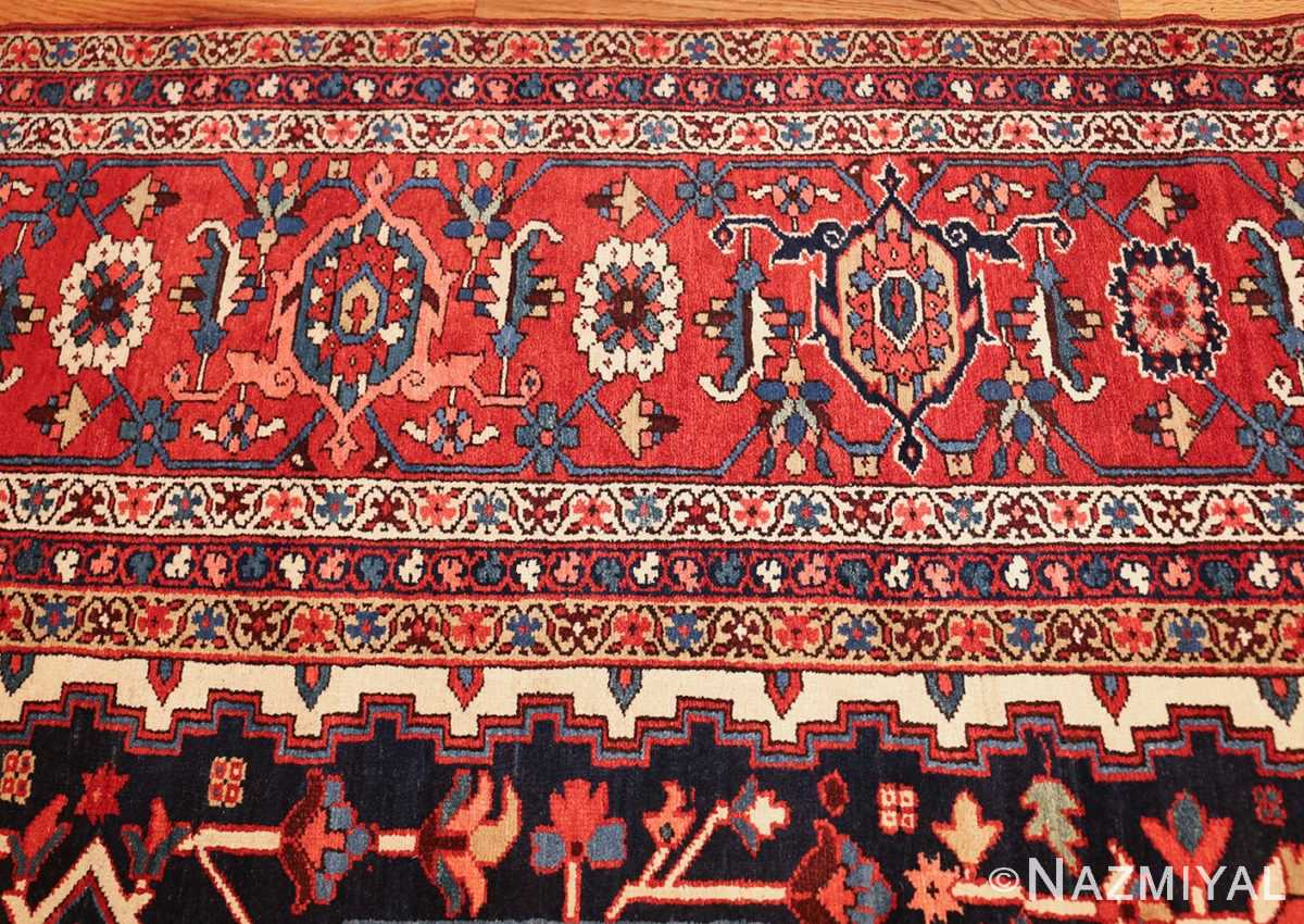 oversize antique persian serapi heriz rug 48677 border Nazmiyal