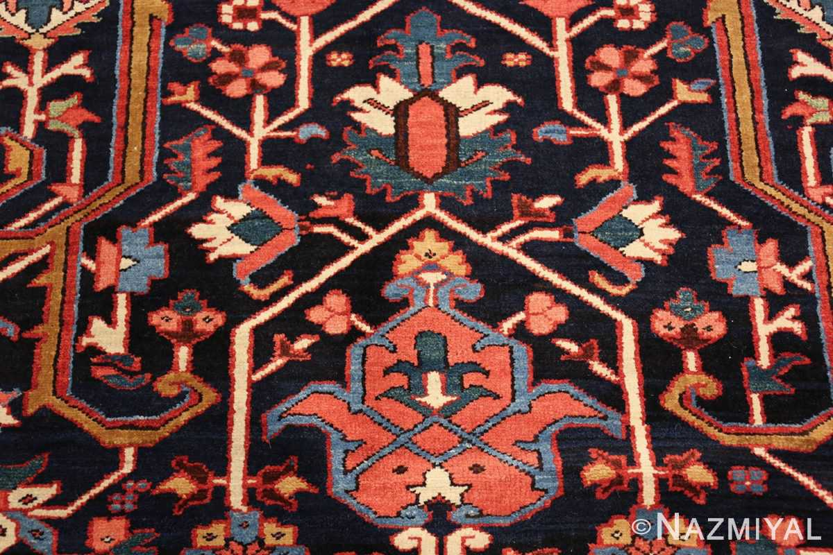 oversize antique persian serapi heriz rug 48677 decor Nazmiyal