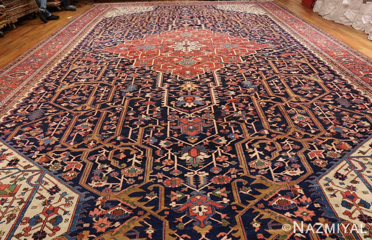 oversize antique persian serapi heriz rug 48677 whole Nazmiyal