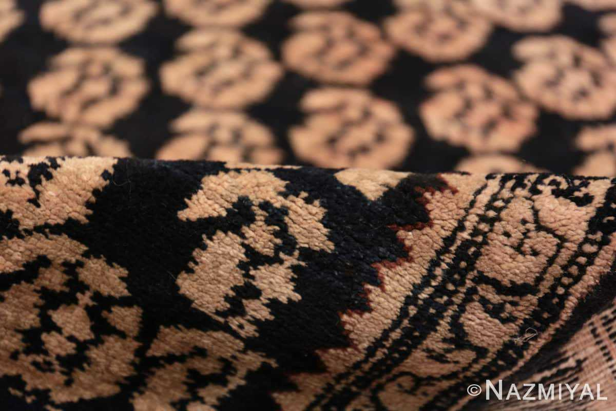 Pile Antique Paisley design Persian Malayer runner rug 50419 by Nazmiyal