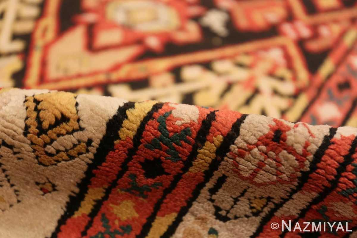 Pile Antique rare Sherab Caucasian design rug 50424 by Nazmiyal