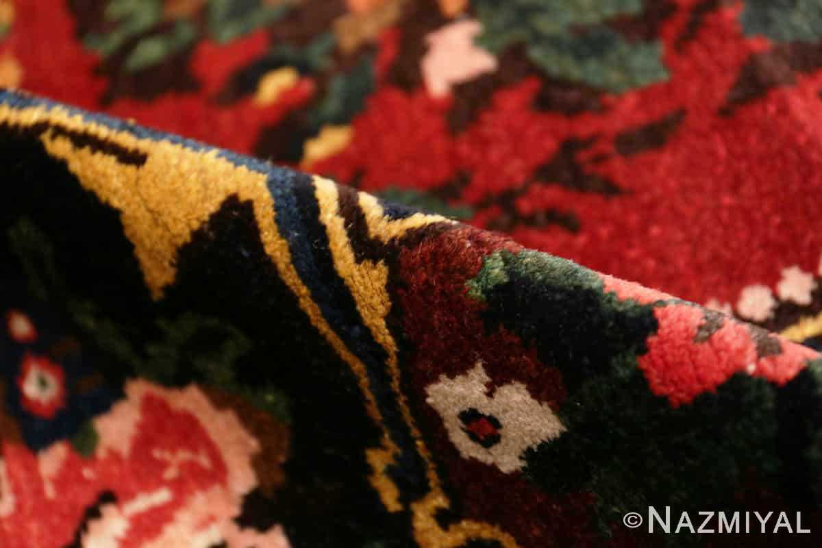 Pile Red floral Vintage Persian Bakhtiari rug 50429 by Nazmiyal