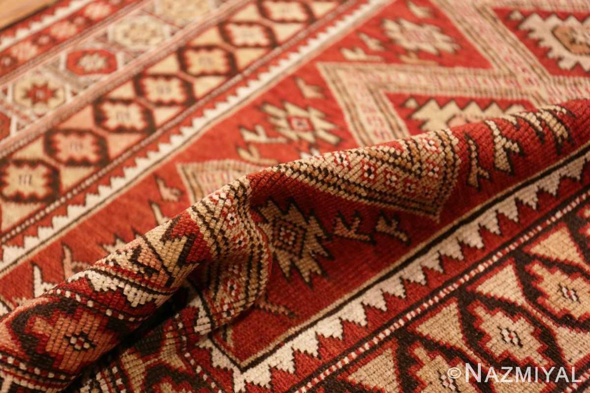 Pile Vintage Tribal Turkish rug 50402 by Nazmiyal
