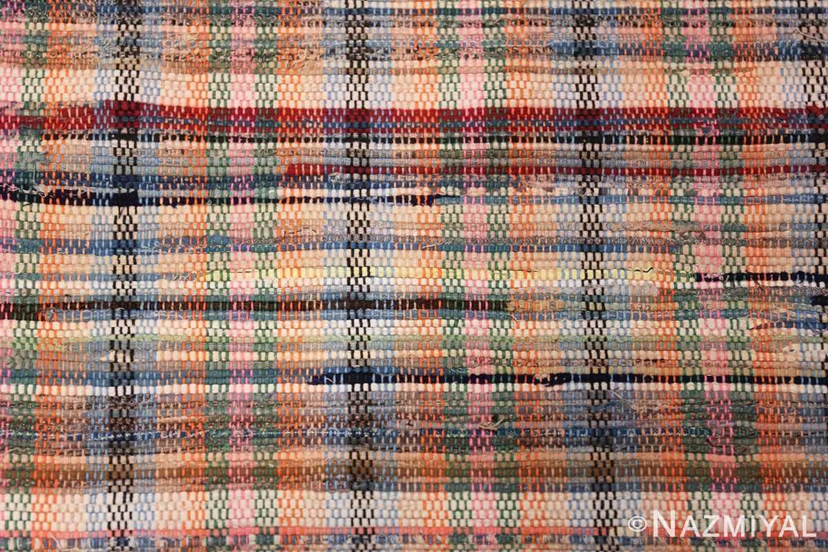 rustic antique american rag rug 48664 top Nazmiyal