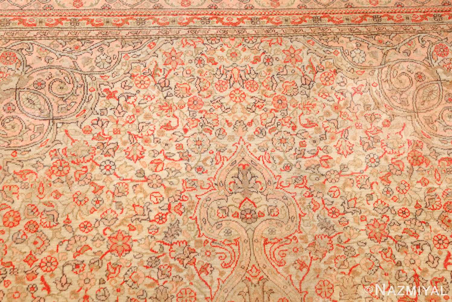 small and fine antique turkish sivas rug 50400 top Nazmiyal