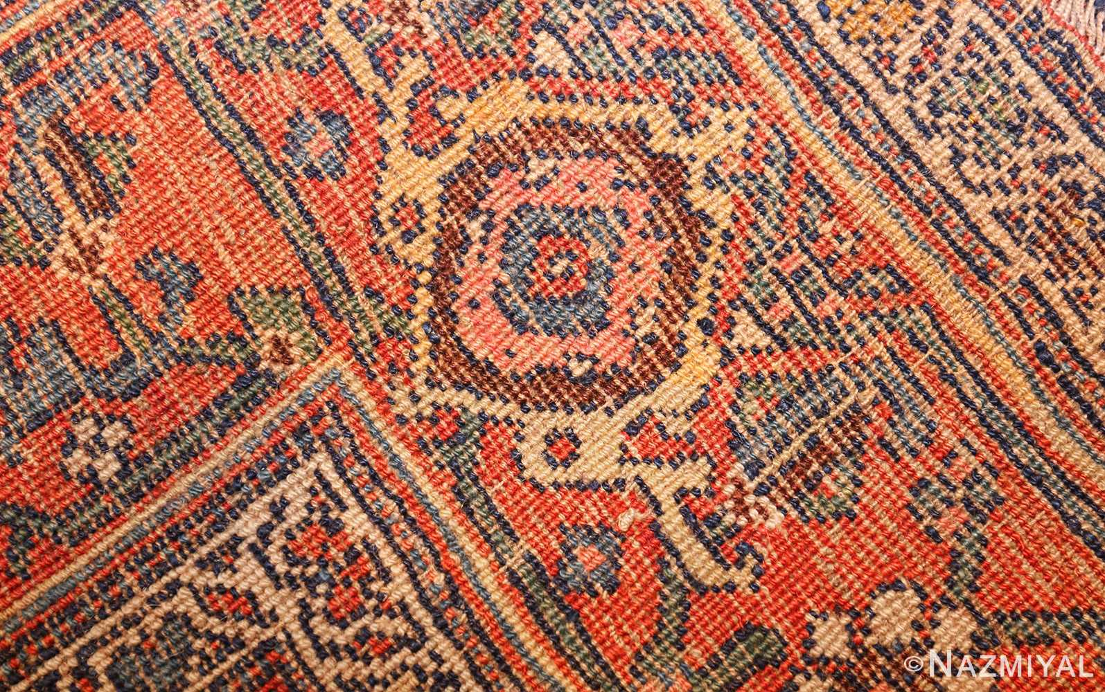 tribal antique blue persian bidjar rug 48655 weave Nazmiyal