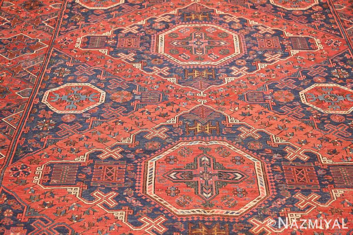 tribal antique caucasian soumak rug 50365 field Nazmiyal