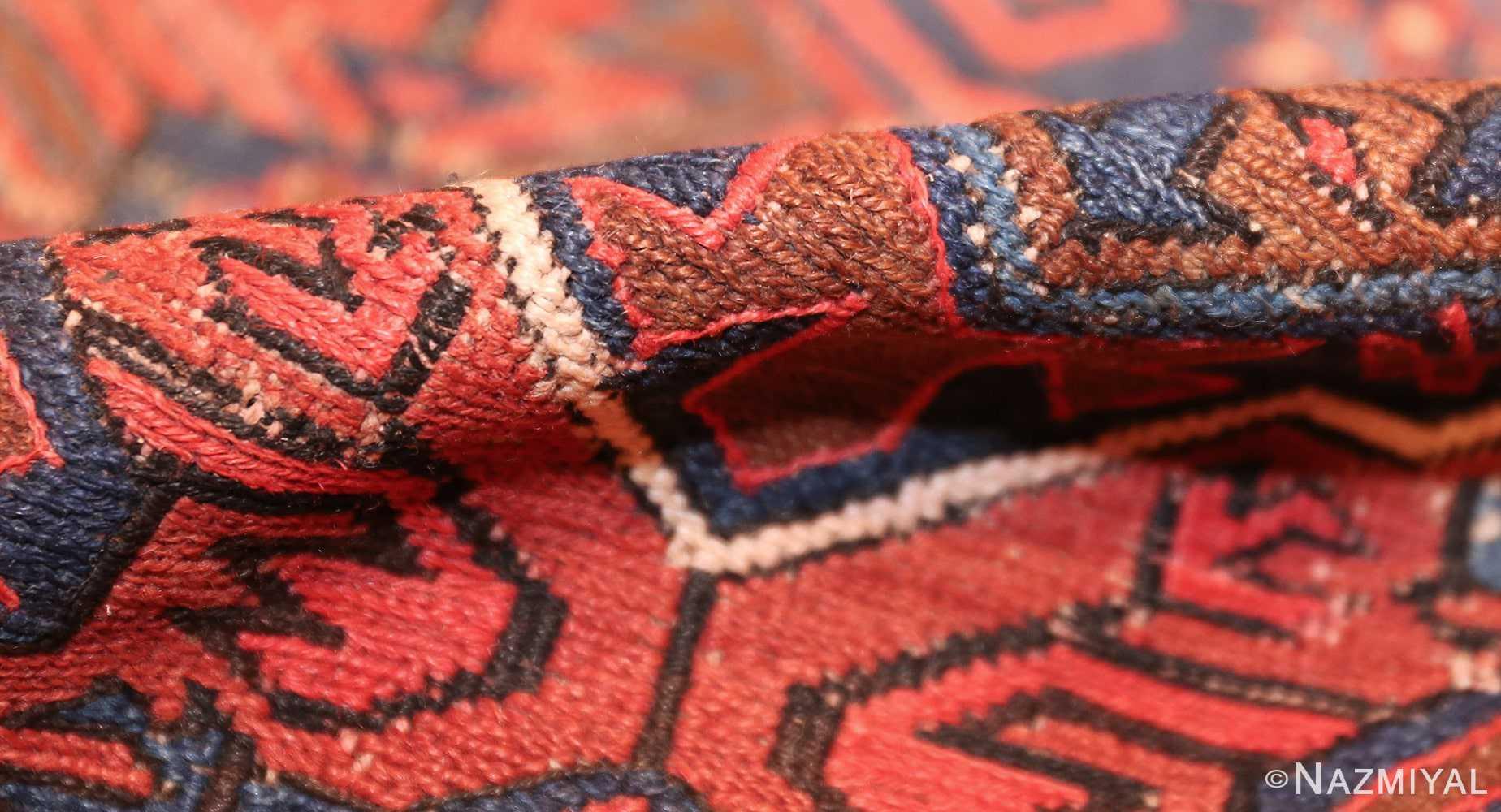 tribal antique caucasian soumak rug 50365 pile Nazmiyal
