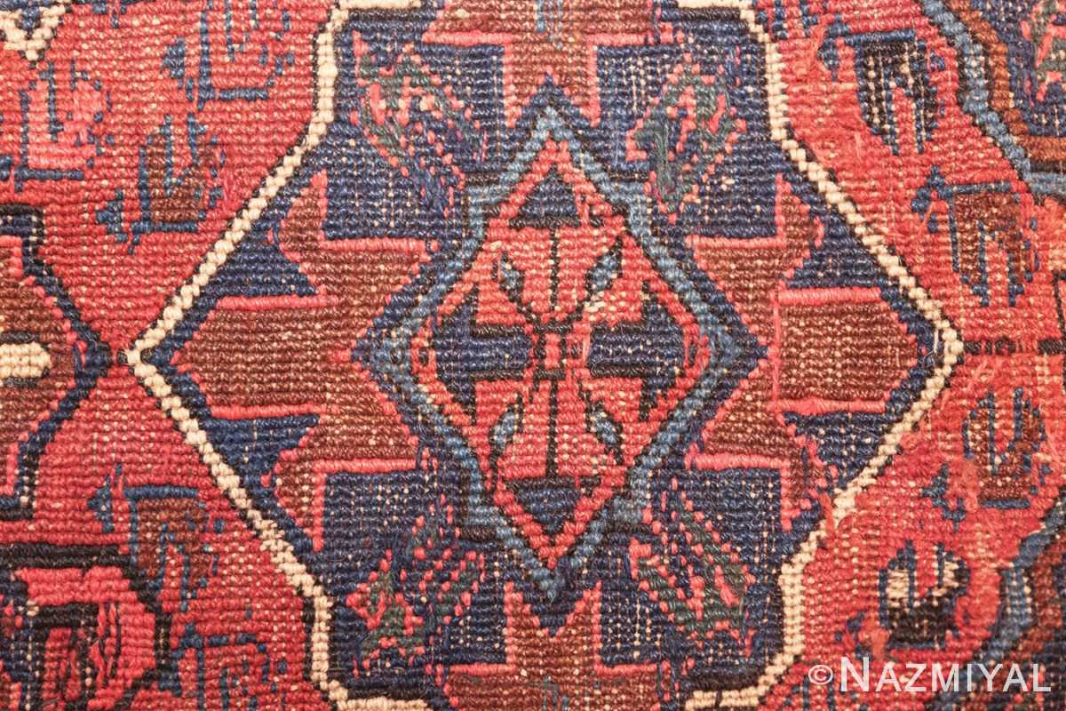 tribal antique caucasian soumak rug 50365 weave Nazmiyal