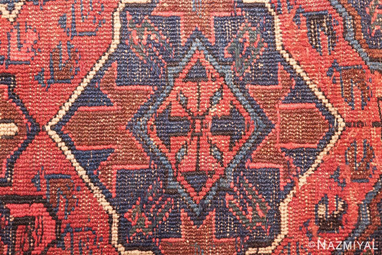 tribal antique caucasian soumak rug 50365 weave Nazmiyal