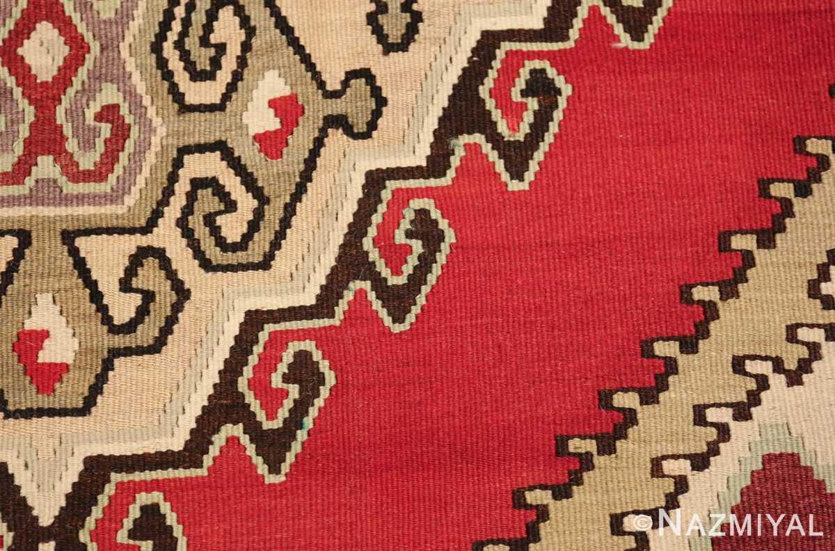vintage red background turkish kilim rug 50381 texture Nazmiyal