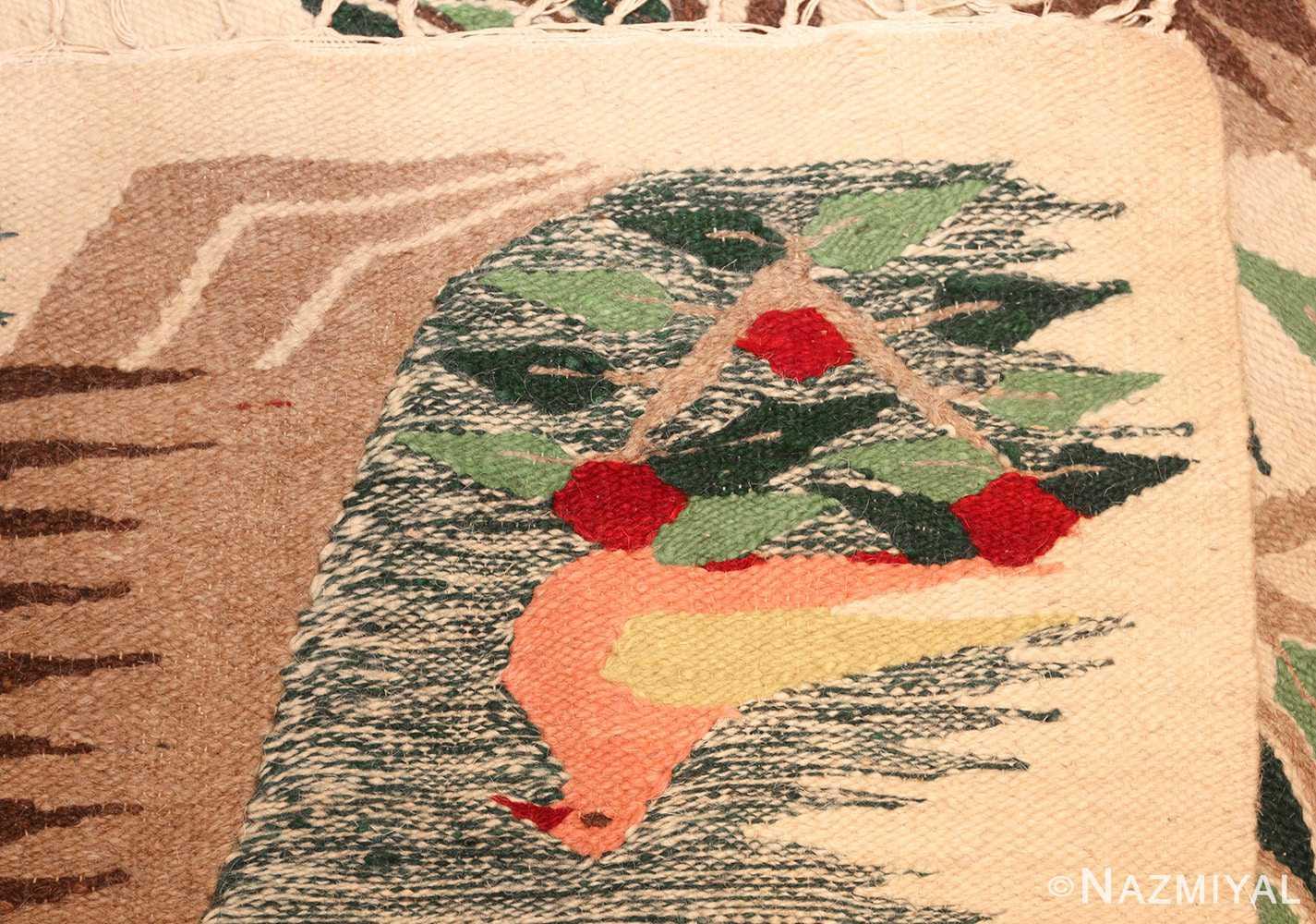 vintage swedish scandinavian tapestry textile art 48607 weave Nazmiyal