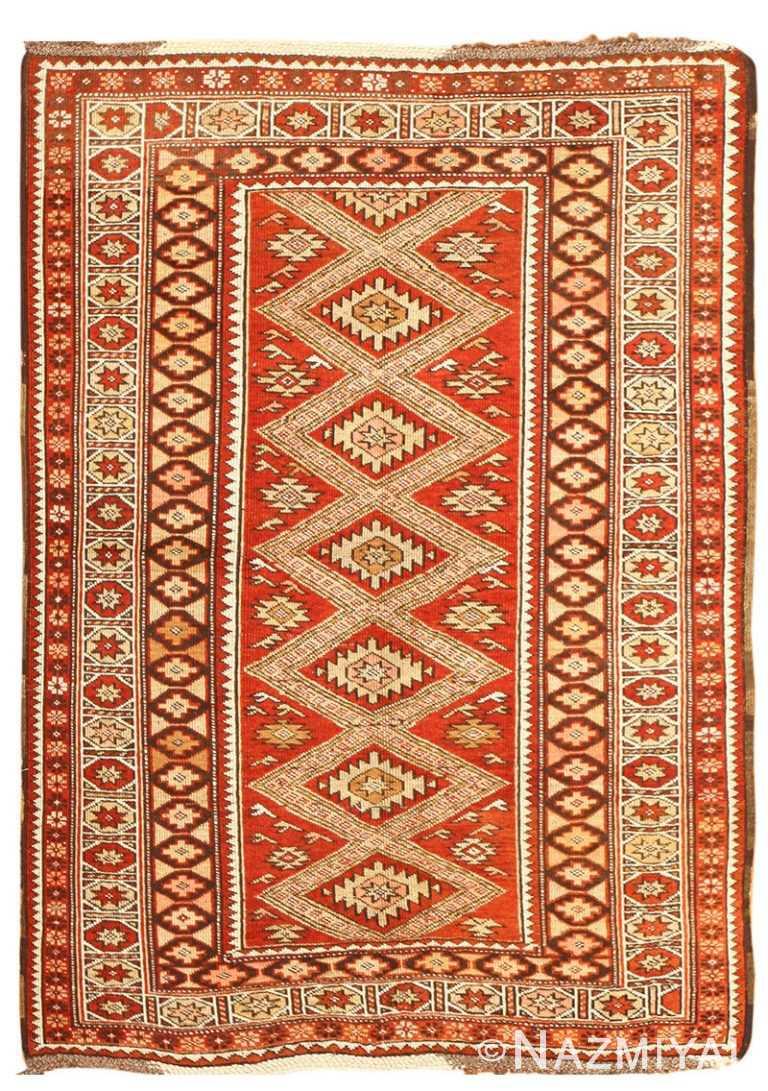 Vintage Turkish Rug 50402 Detail/Large View