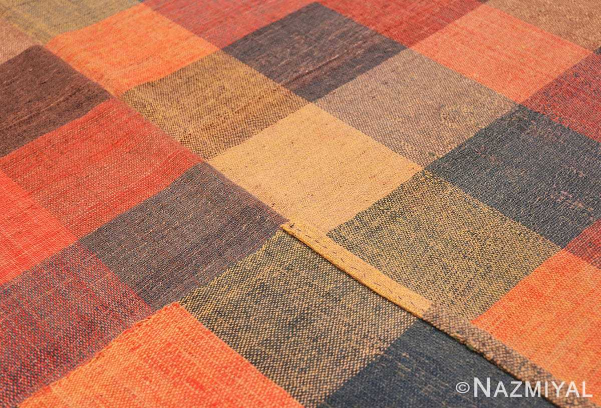 Weave Antique gallery size American rag rug 48665 by Nazmiyal