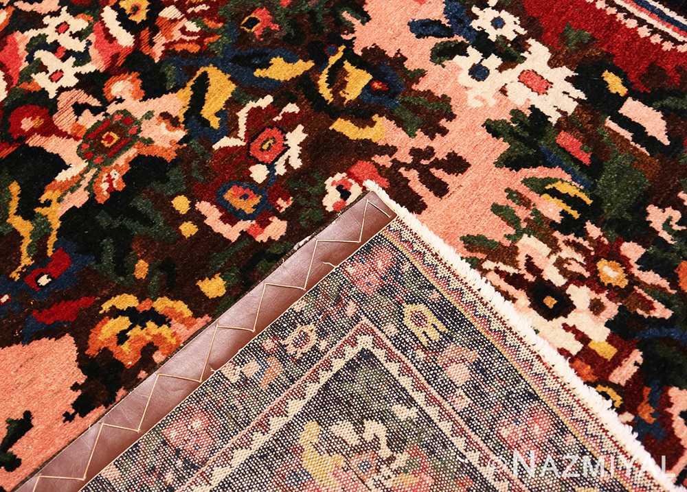 Weave Red floral Vintage Persian Bakhtiari rug 50429 by Nazmiyal