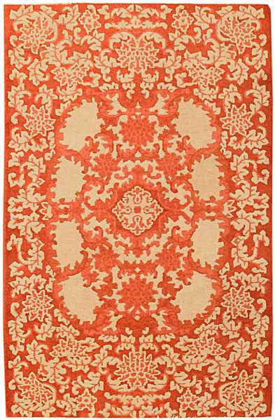 Art Deco Chinese Rug by Nazmiyal