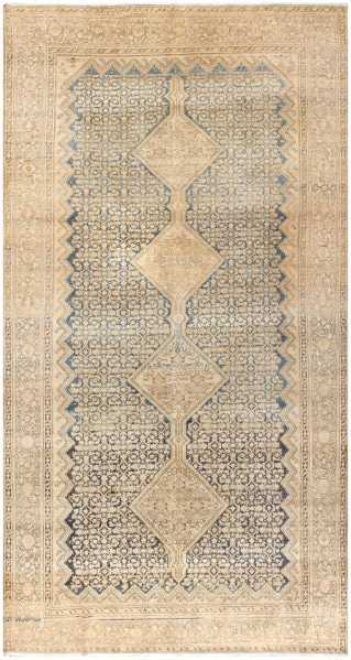 Antique Malayer Persian Carpet by Nazmiyal