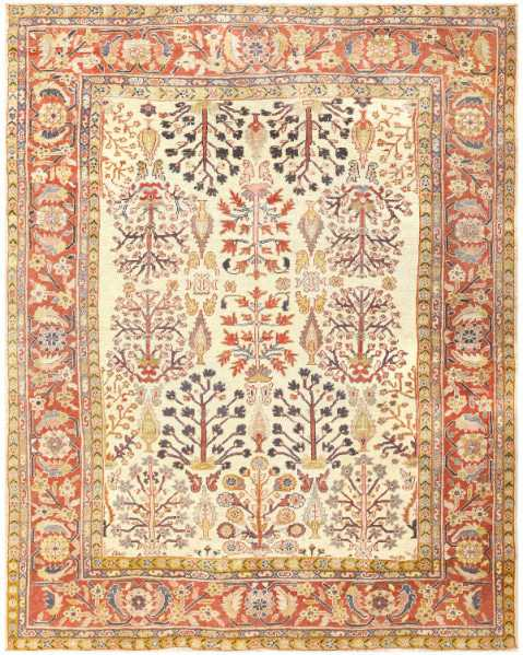 Antique Persian Sultanabad Rug #50095