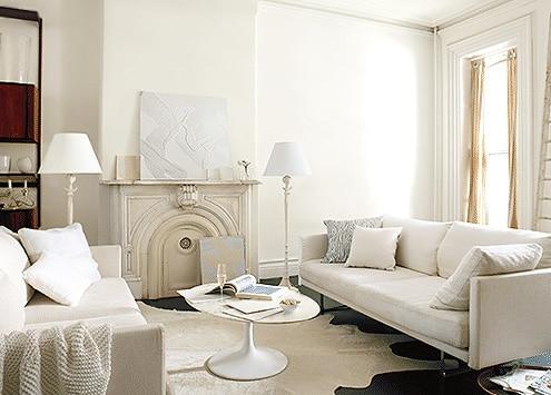 Benjamin Moore Color Trends Simply White Interior Design - Namziyal