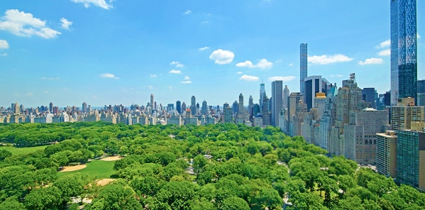 Central Park View From Hot NYC Apartment by nazmiyal